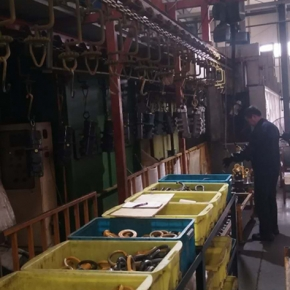 汽车零部件荡涤机 吊挂链式
